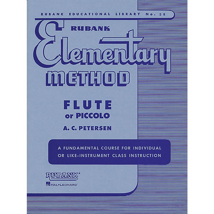 Hal Leonard Rubank Elementary Method for Flute or Piccolo