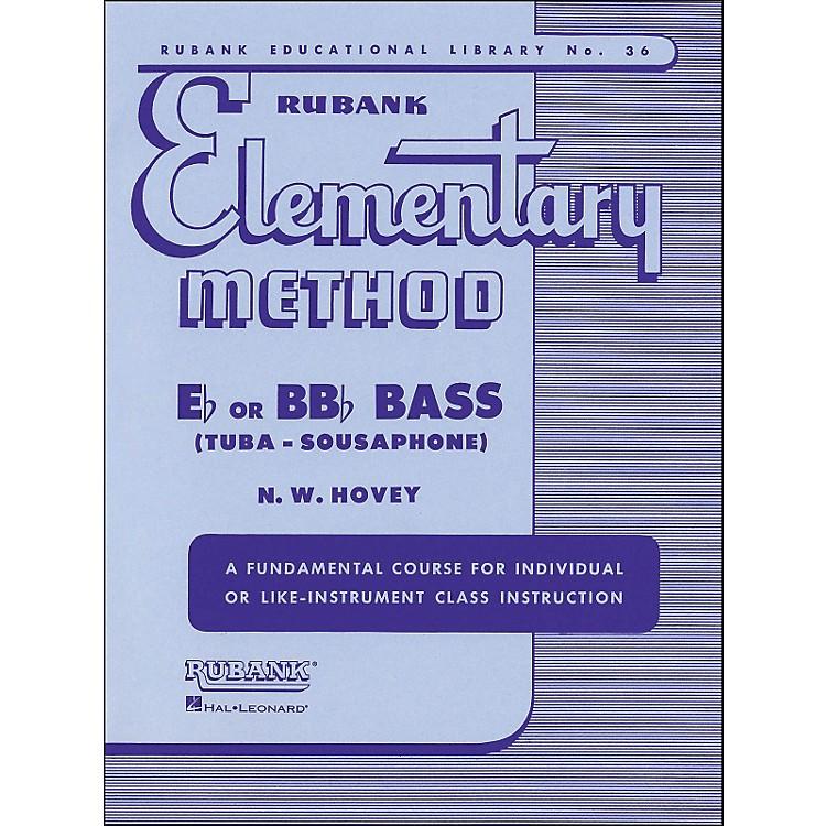 Hal LeonardRubank Elementary Methods - Eb/BBb Bass
