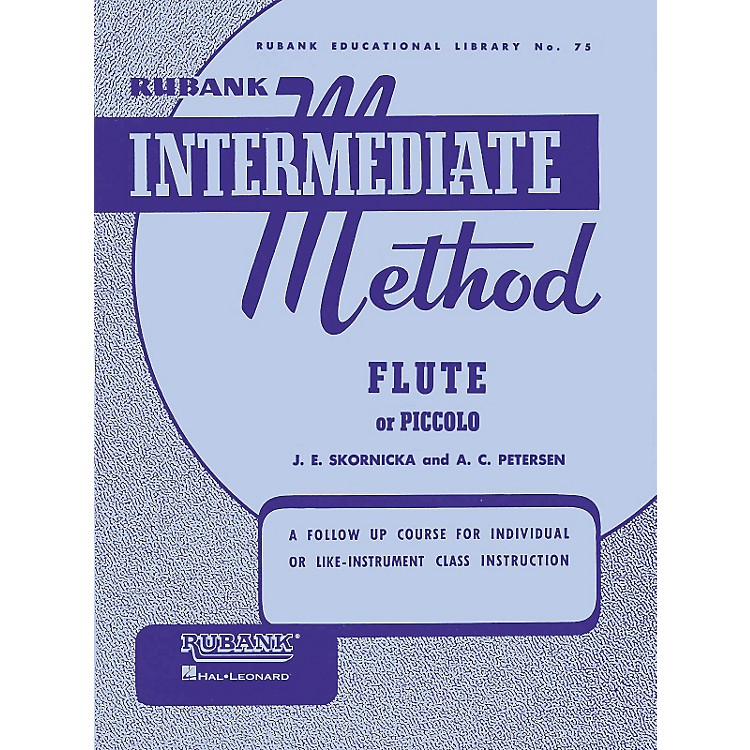 Hal LeonardRubank Intermediate Method for Flute or Piccolo