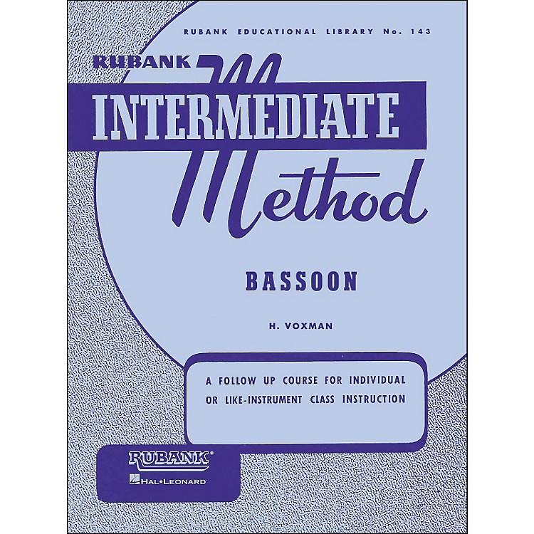 Hal LeonardRubank Intermediate Methods - Bassoon