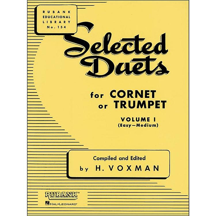 Hal LeonardRubank Selected Duets for Cornet Or Trumpet Vol 1 Easy/Medium