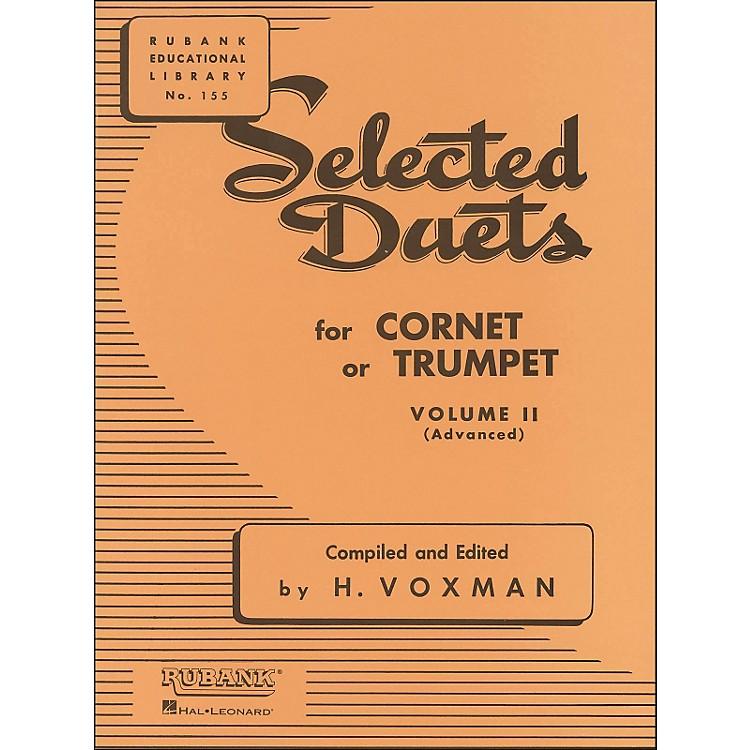 Hal LeonardRubank Selected Duets for Cornet Or Trumpet Vol 2