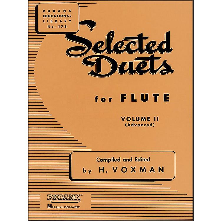 Hal LeonardRubank Selected Duets for Flute Vol 2 Advanced