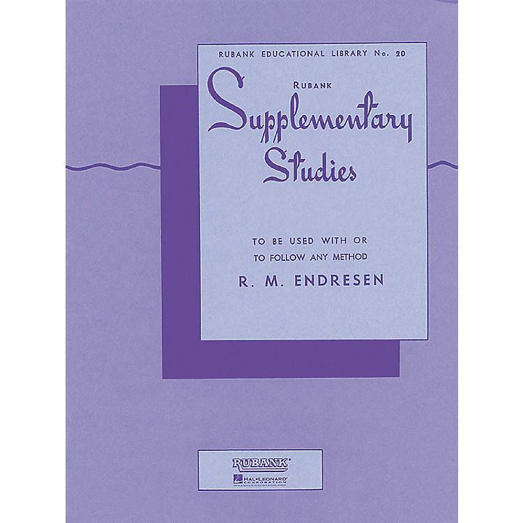 Hal LeonardRubank Supplementary Studies for E Flat Or BB-Flat Bass