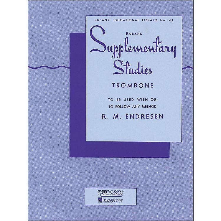 Hal LeonardRubank Supplementary Studies for Trombone