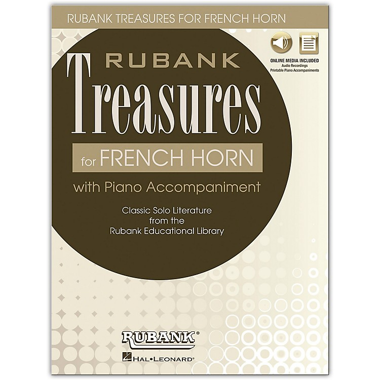 Rubank PublicationsRubank Treasures for French Horn Book/Online Audio