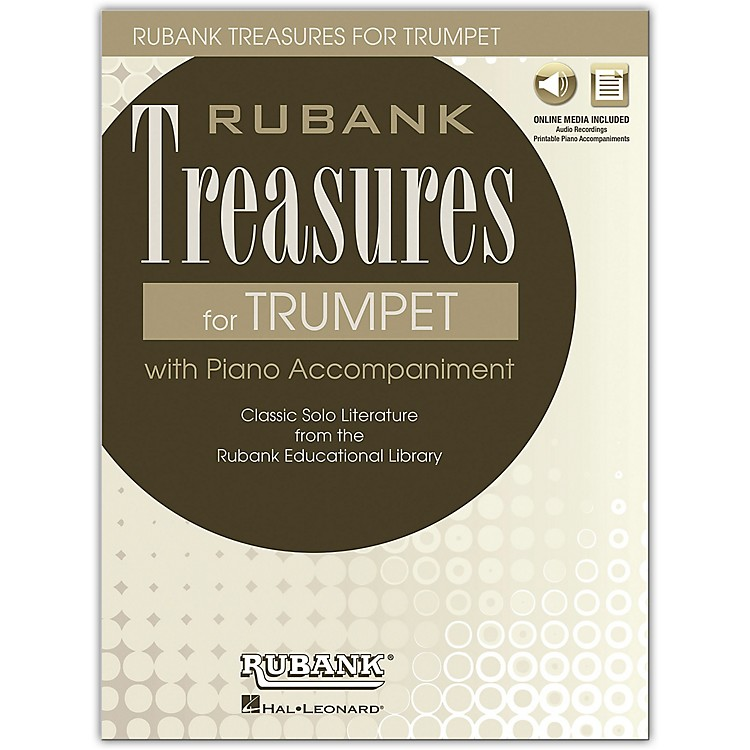 Rubank PublicationsRubank Treasures for Trumpet Book/Online Audio