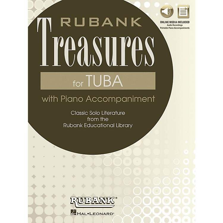Rubank Publications Rubank Treasures for Tuba Rubank Book with CD Series Softcover Media Online