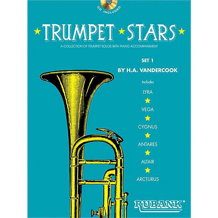 Hal LeonardRubank Trumpet Stars Set 1 Book/CD