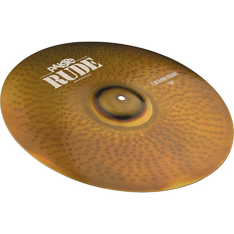 PaisteRude Crash Ride Cymbal18