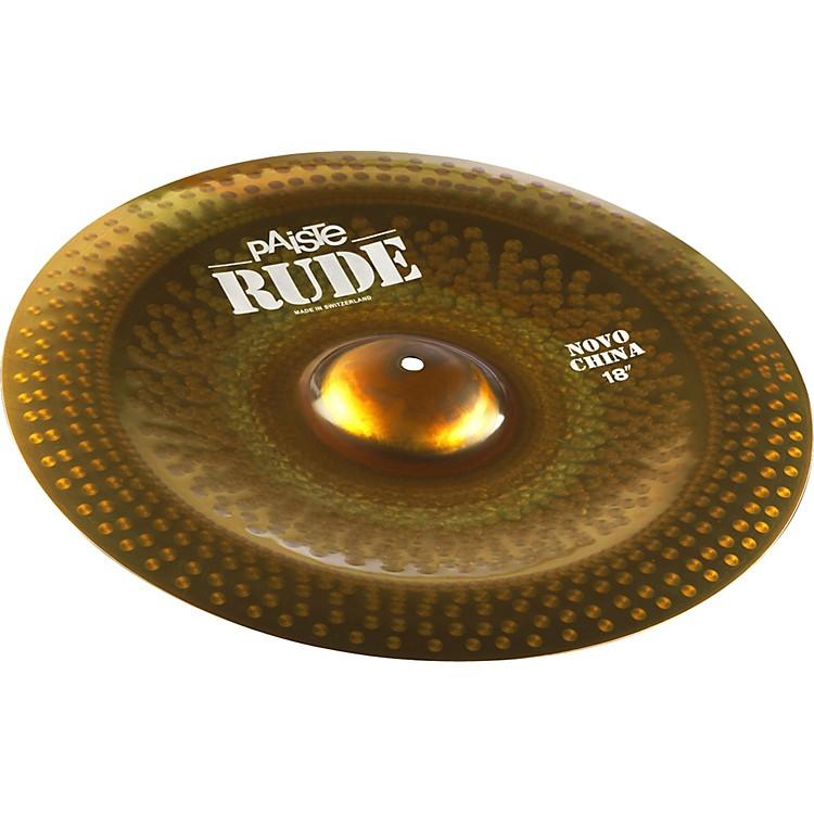 PaisteRude Novo China Cymbal18 in.