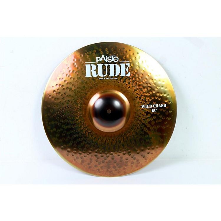 PaisteRude Wild Crash Cymbal18 in.888365231068