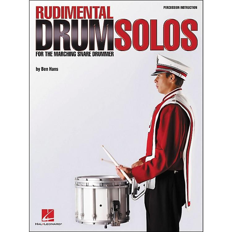 Hal LeonardRudimental Drum Solos for The Marching Snare Drummer