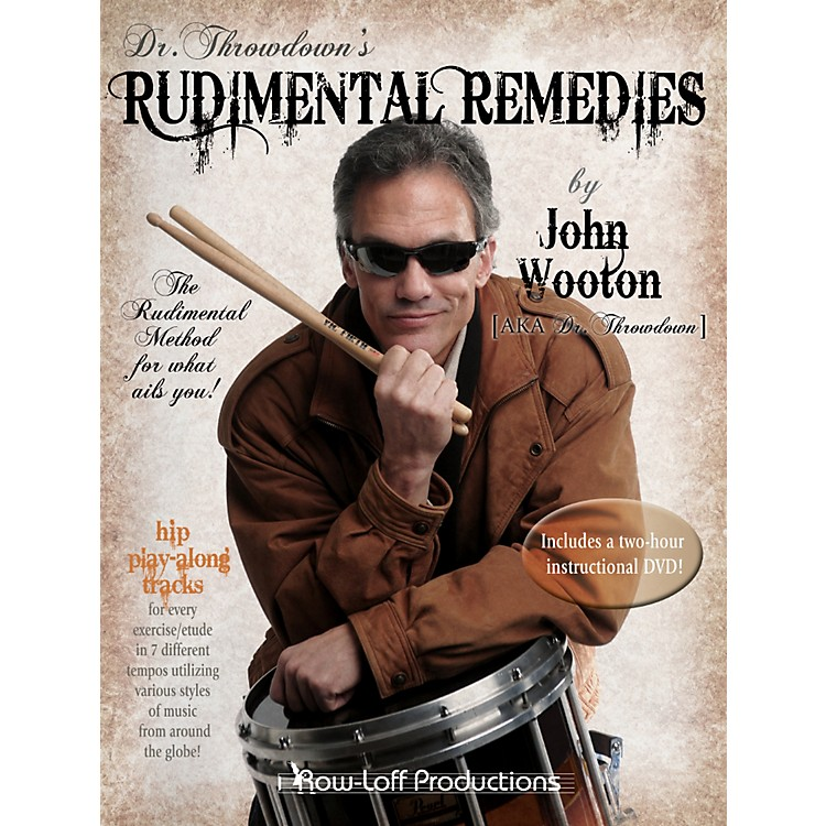 Row-Loff Rudimental Remedies Book