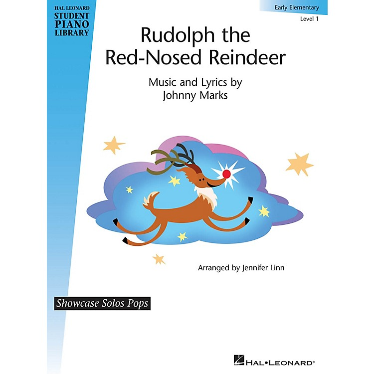 Hal LeonardRudolph the Red-Nosed Reindeer Piano Library Series (Level Early Elem)