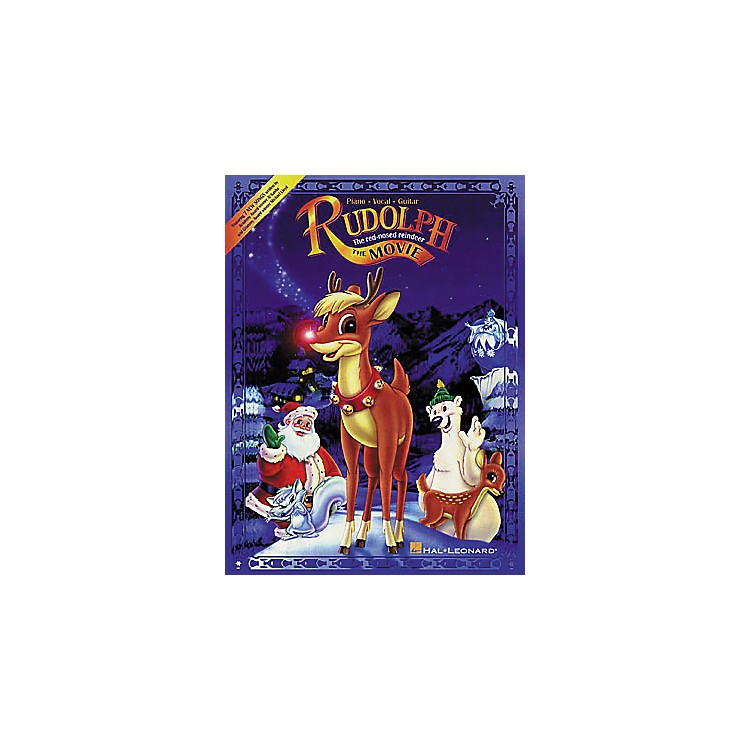 Hal LeonardRudolph the Red-Nosed Reindeer The Movie Piano, Vocal, Guitar Songbook