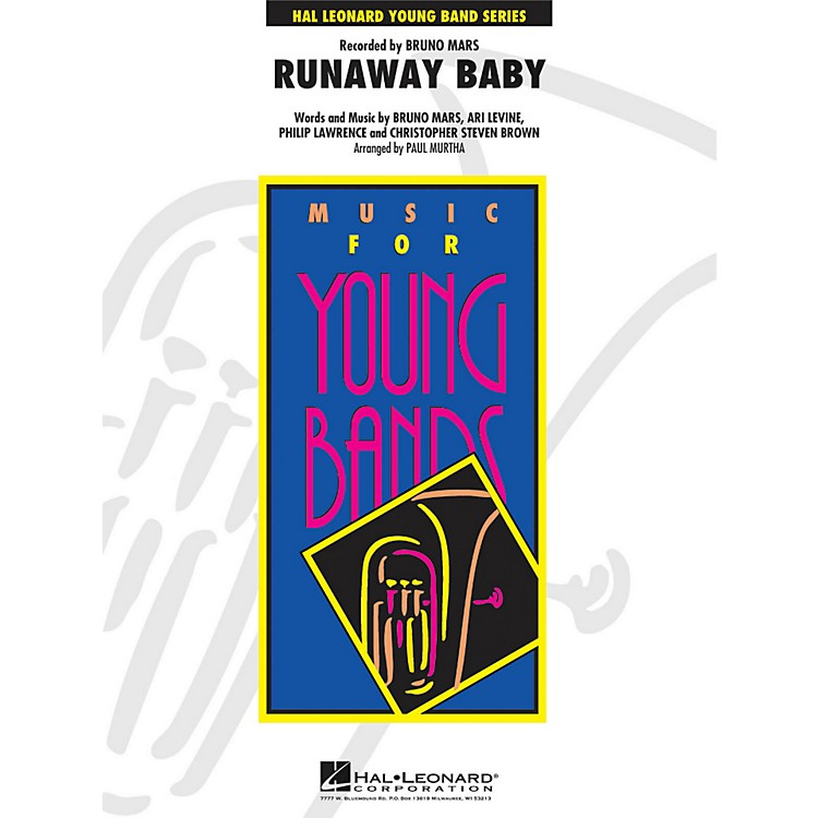 Hal Leonard Runaway Baby - Young Concert Band Series Level 3