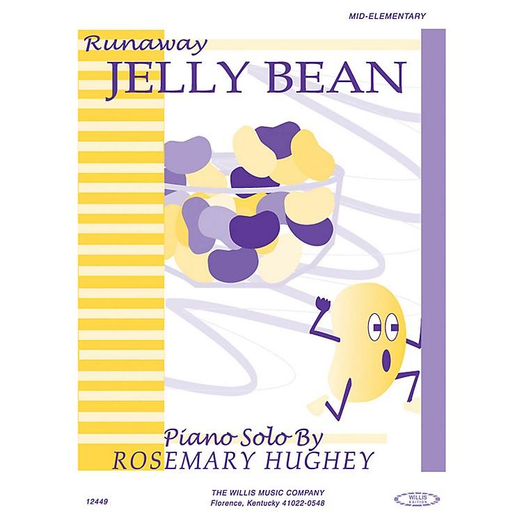 Willis MusicRunaway Jelly Bean (Mid-Elem Level) Willis Series by Rosemary Hughey
