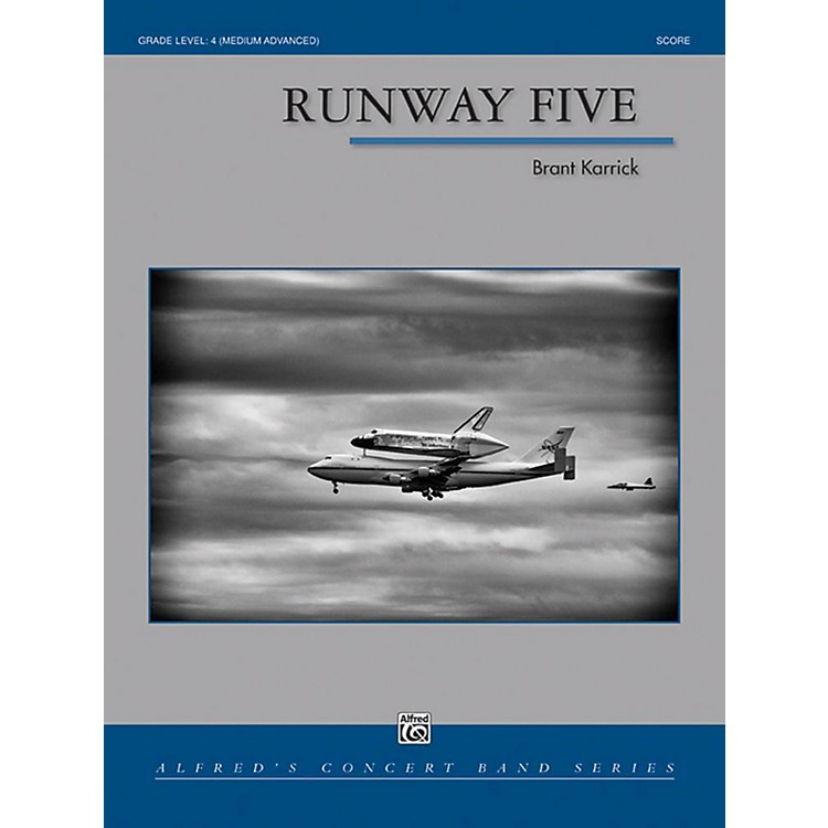 Alfred Runway Five Concert Band Grade 4 Set