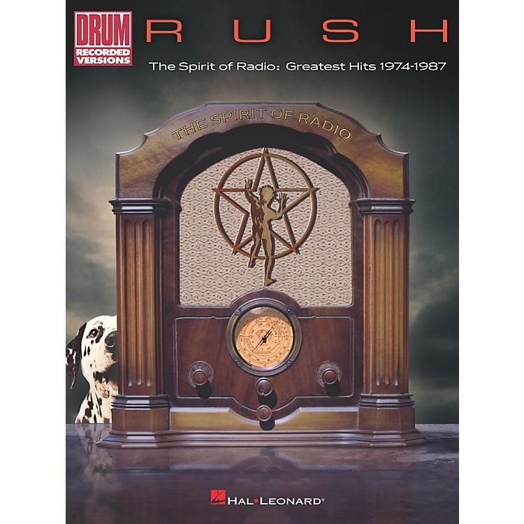 Hal LeonardRush - The Spirit of Radio: Greatest Hits 1974-1987 Drum Transcriptions book
