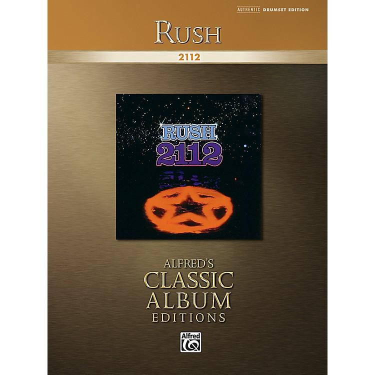 AlfredRush: 2112 Drum Transcriptions Book