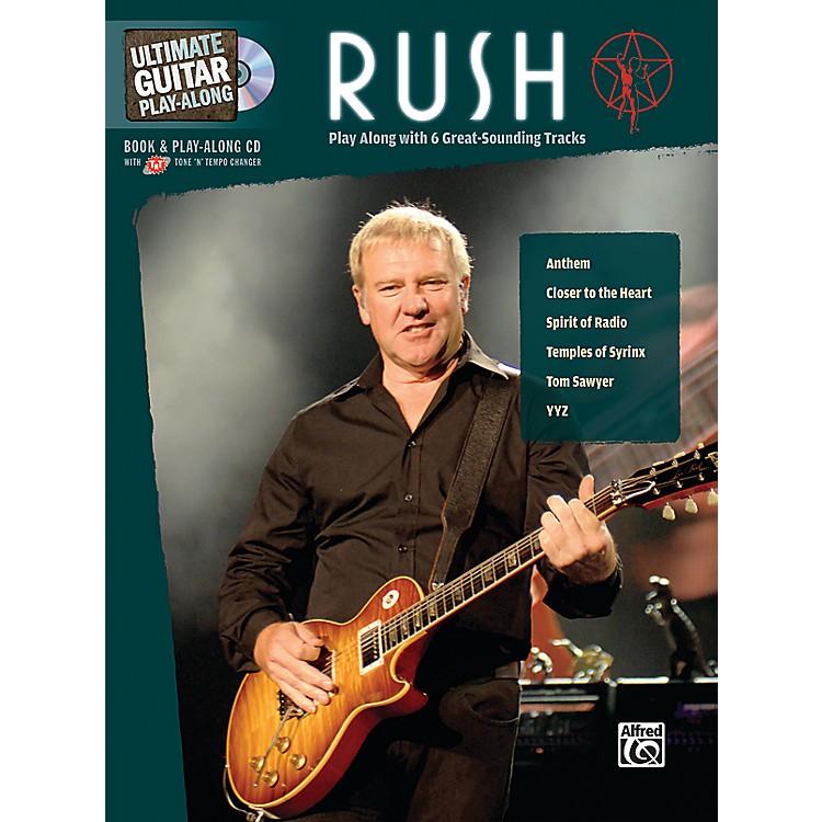 AlfredRush Ultimate Play-Along Guitar (Book/CD)
