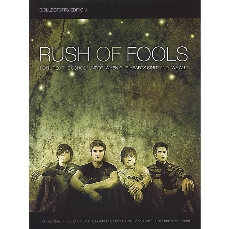 Worship TogetherRush of Fools - Collector's Edition Sacred Folio Series Softcover Performed by Dukes Of Dixieland