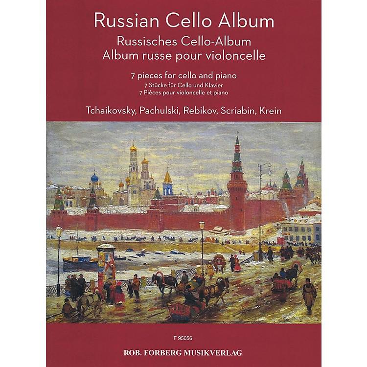 Rob. Forberg MusikverlagRussian Cello Album (7 Pieces for Cello and Piano) String Series Softcover