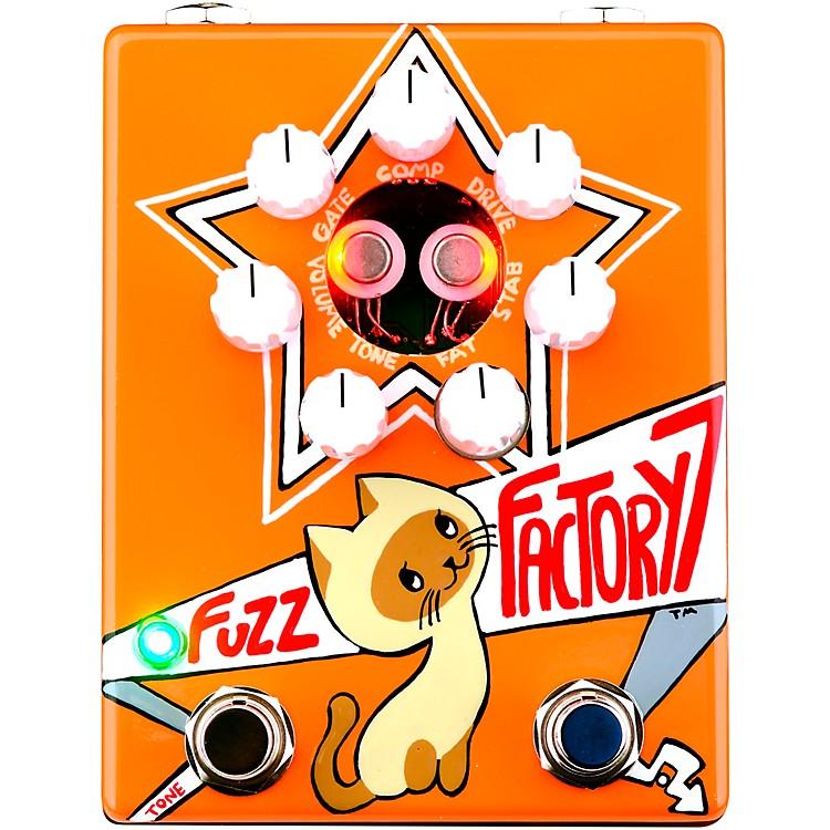 ZVexRussian Fuzz Factory 7 Fuzz Effects Pedal