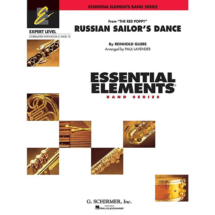 Hal LeonardRussian Sailor's Dance Concert Band Level 2 Composed by Reinhold Glière Arranged by Paul Lavender