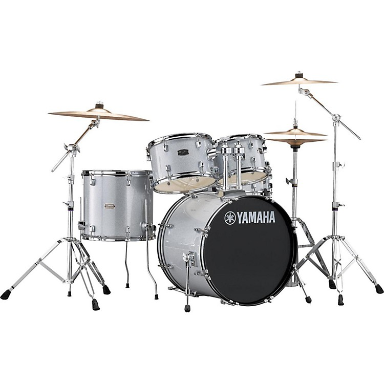 Yamaha Rydeen 5-Piece Shell Pack with 20 in. Bass Drum Black Glitter