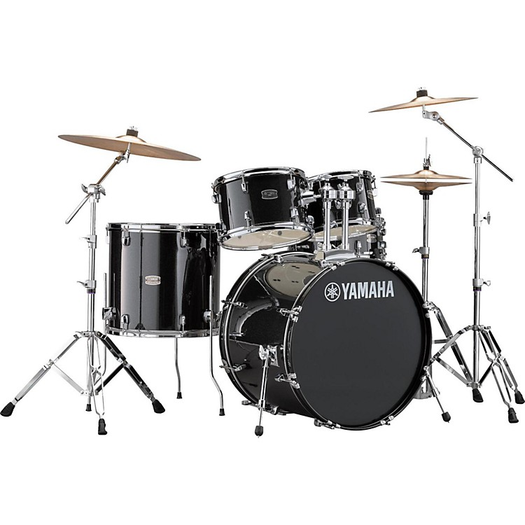 Yamaha Rydeen 5-Piece Shell Pack with 22 in. Bass Drum Black Glitter