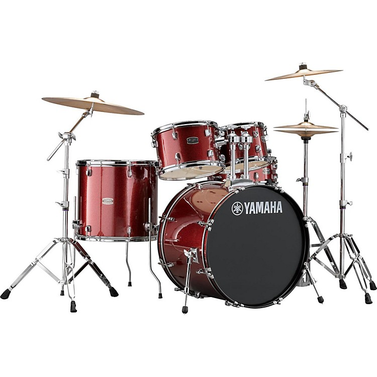 YamahaRydeen 5-Piece Shell Pack with 22 in. Bass DrumSilver Glitter