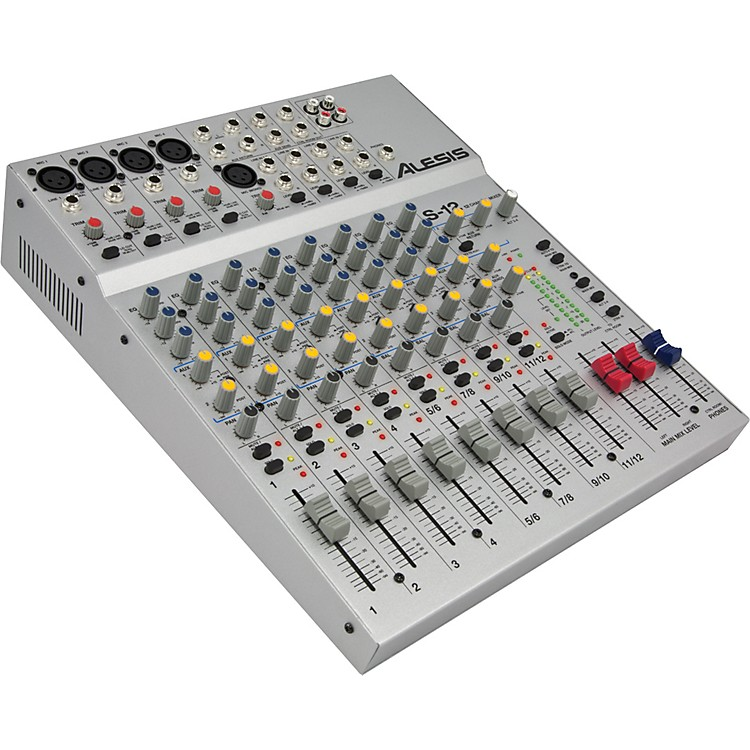 AlesisS-12 12-Channel Compact Mixer