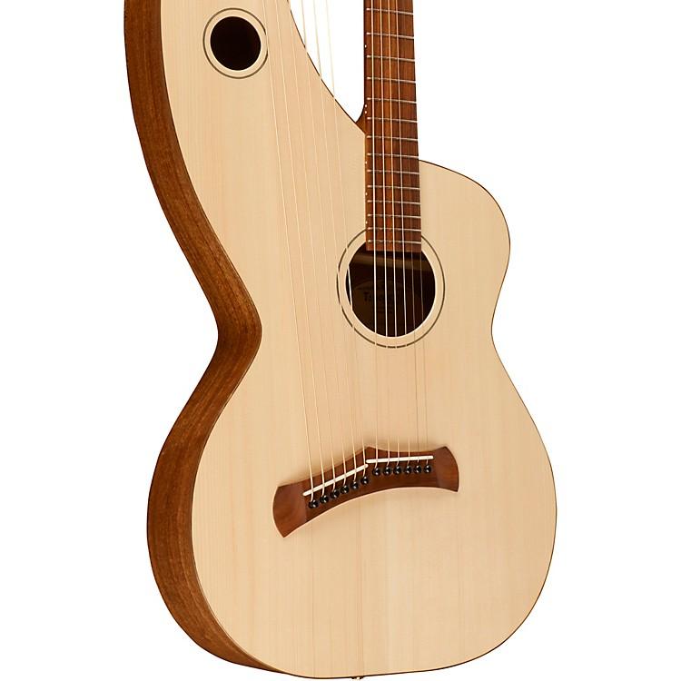 Tonedevil GuitarsS-12 Symphony Harp GuitarNatural