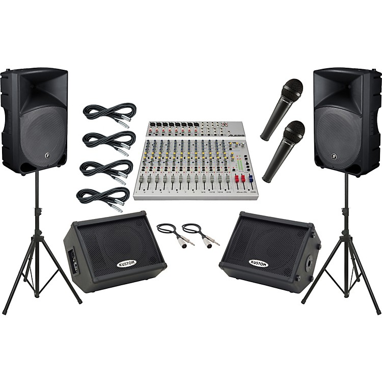 AlesisS-16 / Mackie Thump TH-15A Mains and Monitors Package