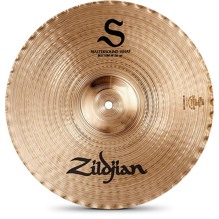 Zildjian S Family Mastersound Hi-hat Bottom 14 in.