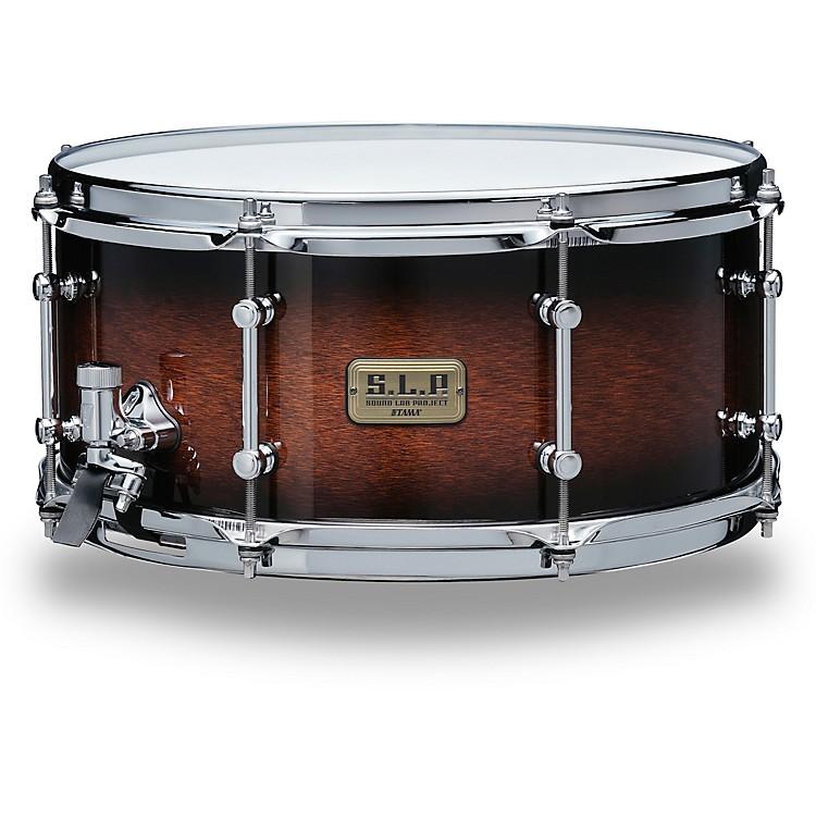 TAMAS.L.P. Dynamic Kapur Snare Drum14 x 6.5 in.Black Kapur Burst