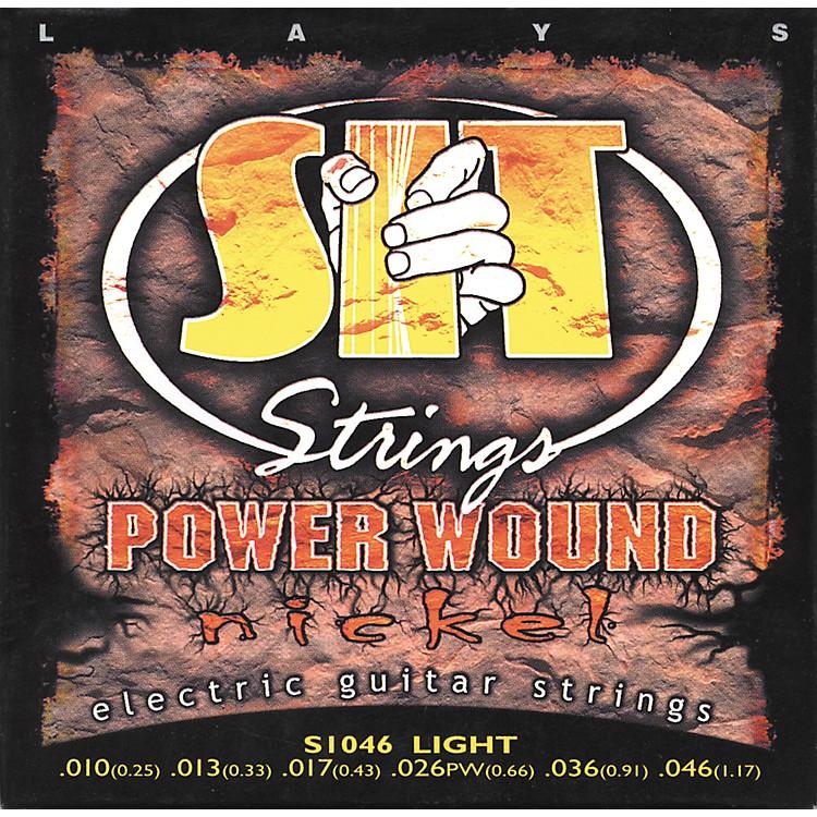 SIT StringsS1046 Power Nickel Electric Guitar Strings