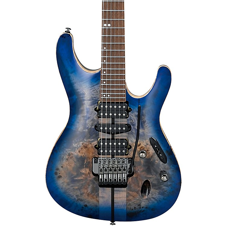 IbanezS1070PBZ S Premium Electric GuitarCerulean Blue Burst