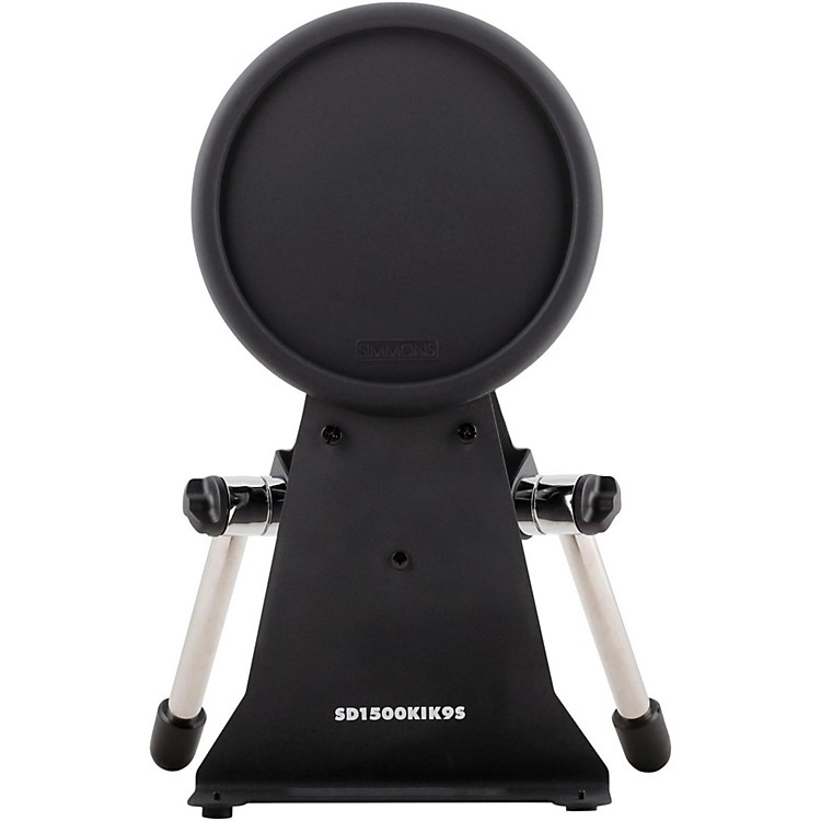 SimmonsS1500 Pro Kick Pad and Stand with Chrome Legs
