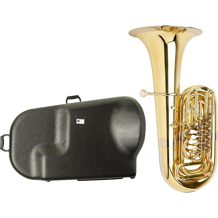 MiraphoneS186 Standard Series 5-Valve BBb Tuba with Hard Case