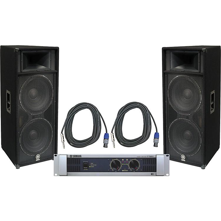 YamahaS215V/ P7000S Speaker & Amp Package