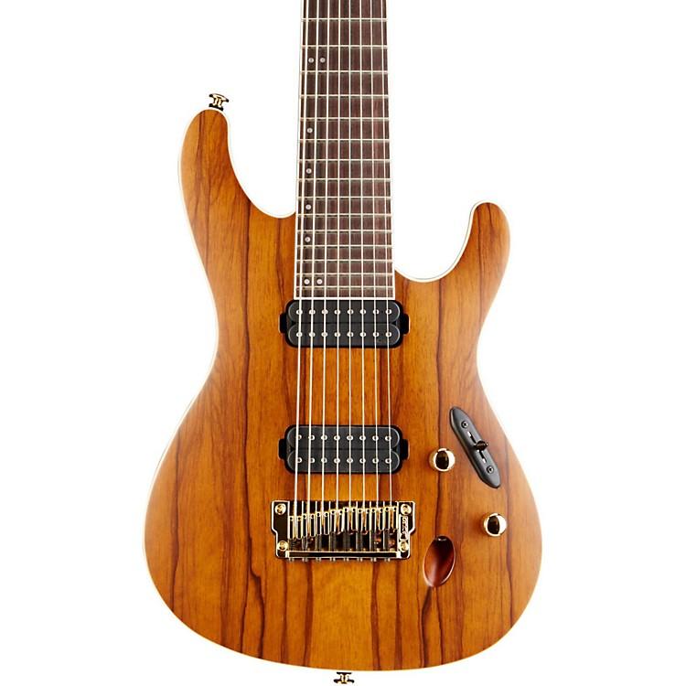 IbanezS5528LW Prestige S Series 8 String Electric GuitarHazelnut Ale Brown