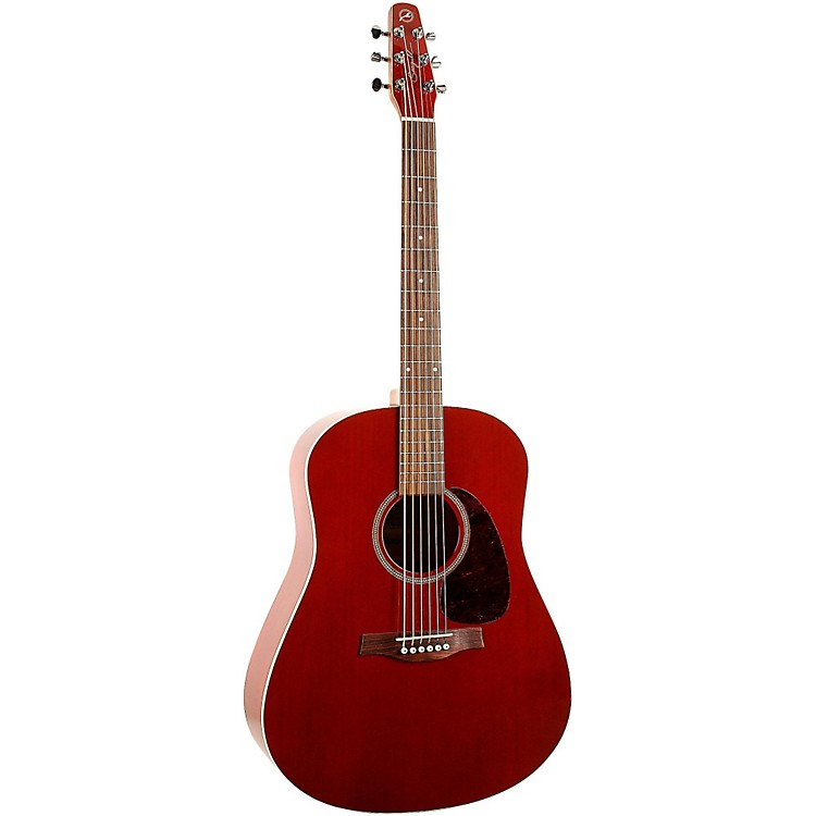 Seagull S6 Cedar Acoustic Guitar Red