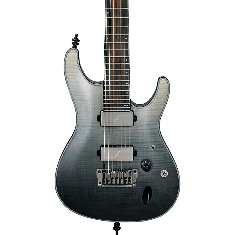 ibanez s71al axion label 7 string electric guitar black mirage gradation low gloss music123. Black Bedroom Furniture Sets. Home Design Ideas