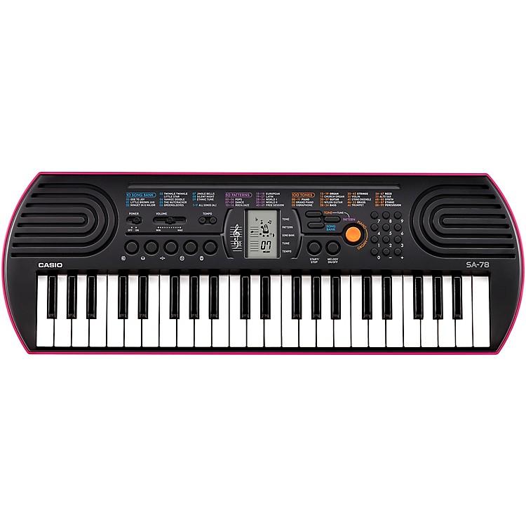 CasioSA-78 Mini-Size KeyboardPink