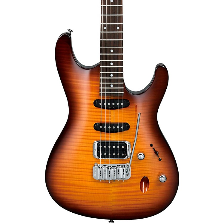 Ibanez SA Series SA160FM Electric Guitar Brown Sunburst
