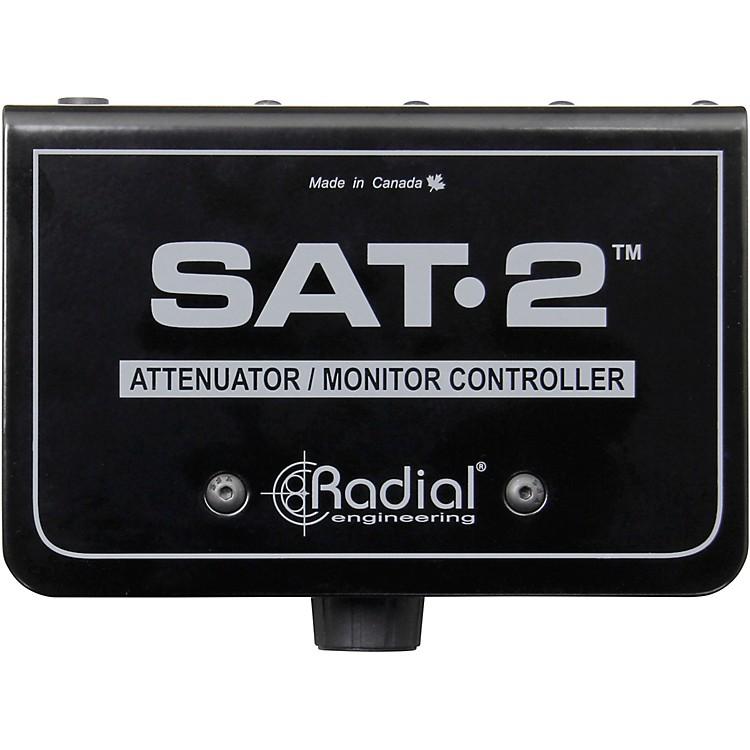 Radial EngineeringSAT-2 Stereo Audio Attenuator & Monitor Controller
