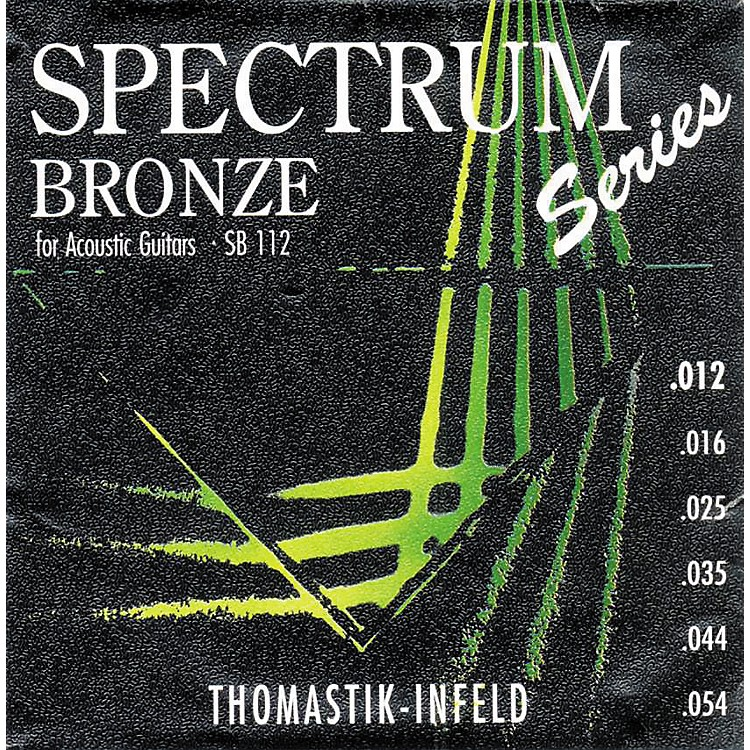 ThomastikSB112 Spectrum Bronze Acoustic Strings Medium-Light
